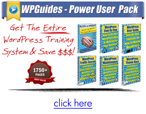 WordPress Guides - Packages
